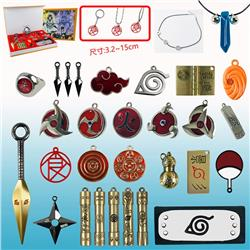 naruto anime weapon set