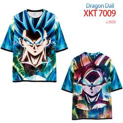 dragon ball anime 3d printed tshirt S to 6xl
