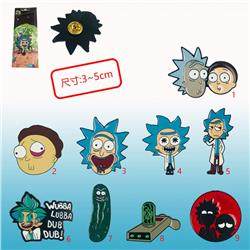 rick and morty anime pin price for 1 pcs