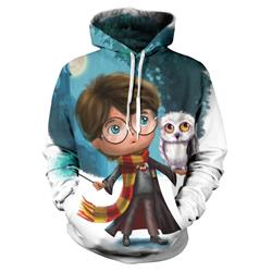 harry potter anime 3d printed hoodie 2xs to 4xl