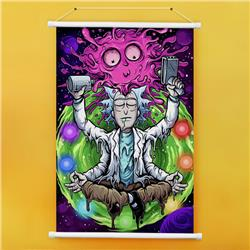 Rick and Morty anime wall scroll 60*90