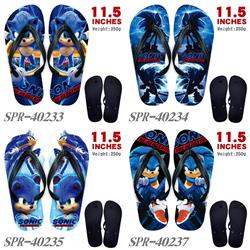 Sonic The Hedgehog anime flip flops shoes slippers a pair