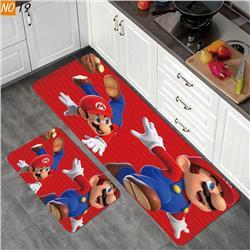 super mario anime carpet set 40*120+40*60
