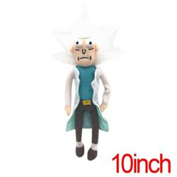 Rick and Morty Plush Doll Anime Plush Toys