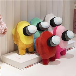 Colors Among Us Popular Game Collectible Anime Plush Toy Pillow Pendant 10cm