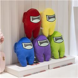 Among Us Popular Game Collectible Anime Plush Toy Pillow Pendant 10cm
