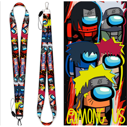 among us lanyard phonestrap