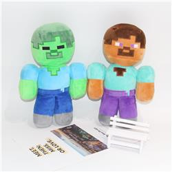 minecraft plush doll 30*18cm