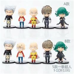 Two Styles One Punch Man Anime PVC Figure Toy (5pcs/set)