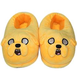 Adventure Time With Finn and Jake Anime Plush Slipper Cosplay Cartoon For Adult Home Decor