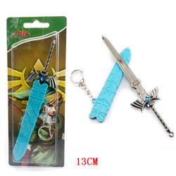 The Legend Of Zelda Game Cosplay Fashion Anime Alloy Keychain
