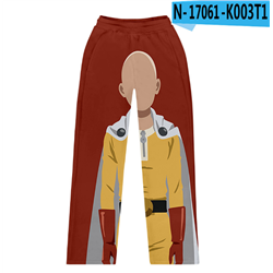 one punch man anime pants for children