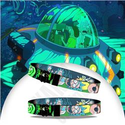 rick and morty anime Wristbands