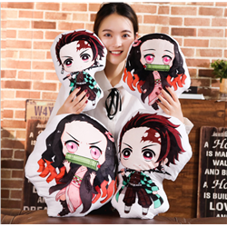 demon slayer anime plush cushion 35cm