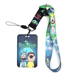 rick and morty anime lanyard phonestrap 2.5cm*45cm