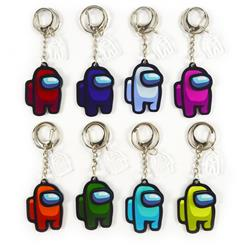 among us keychain random selection