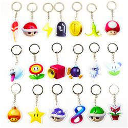 super mario keychain random selection