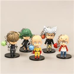 one punch man anime figure keychain price for a set