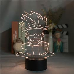 Jujutsu Kaisen anime 7 colours LED light