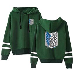 Attack on Titan anime hoodie