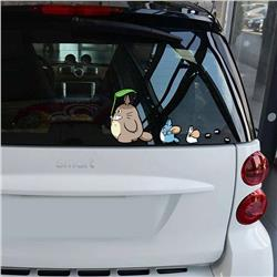 totoro anime car sticker