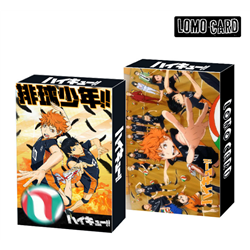haikyuu anime lomo cards